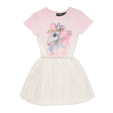 S18 Rock Your Kid Rainbow Brumby Circus Dress