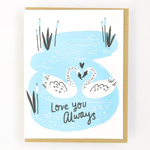 Hello Lucky Love You Always Card 1265 - My Messy Room