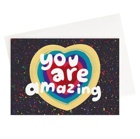 The Adventures Of You Are Amazing Card