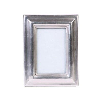 Brushed Silver Photo Frame