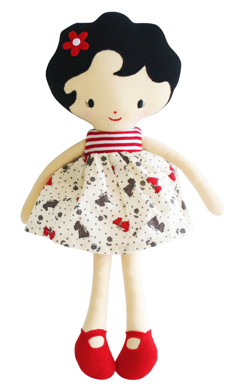 Alimrose Ivy Doll - Red 36cm - My Messy Room