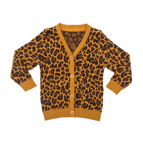 Rock Your Kid W17 Leopard Cardigan