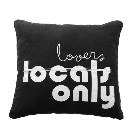 Kawaiian Lion Locals Lovers Only Cushion - My Messy Room - 1