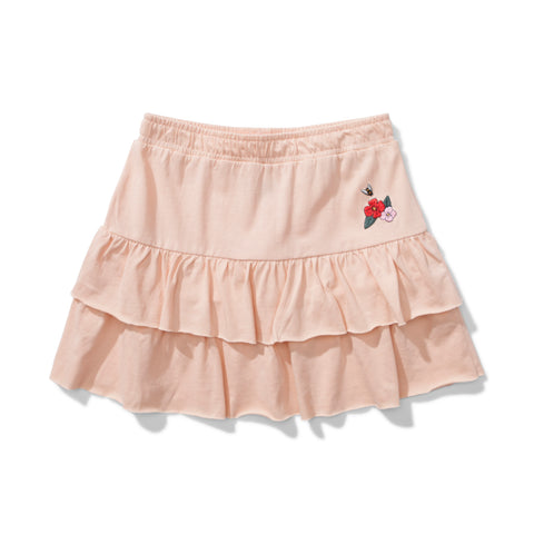 S18 Missie Munster Loops Jersey Skirt - Ivy Pink (Drop 3)