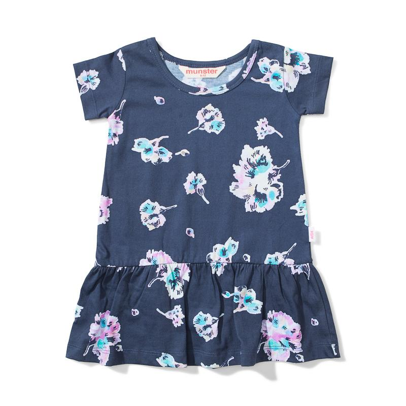 S18 Lil Missie Nest Dress Water Floral