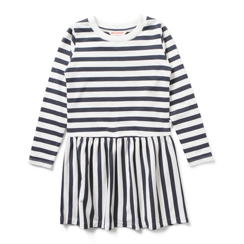 Missie Munster W17 Marlee Dress - Black Stripe