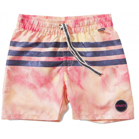 S18 Munster Kids Liquify Boardshort - Orange (Drop 2)