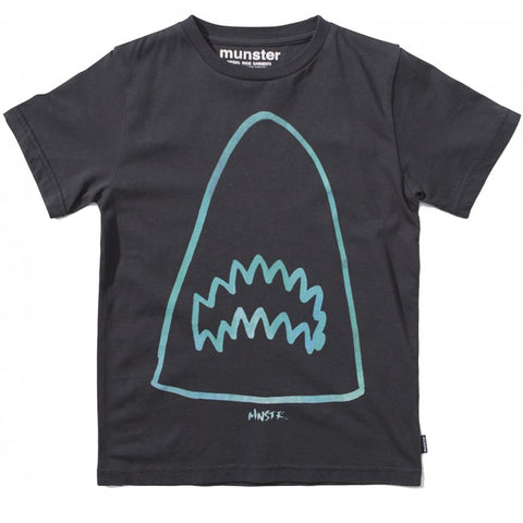 S18 Munster Kids Jaws Tee - Soft Black (Drop 2)