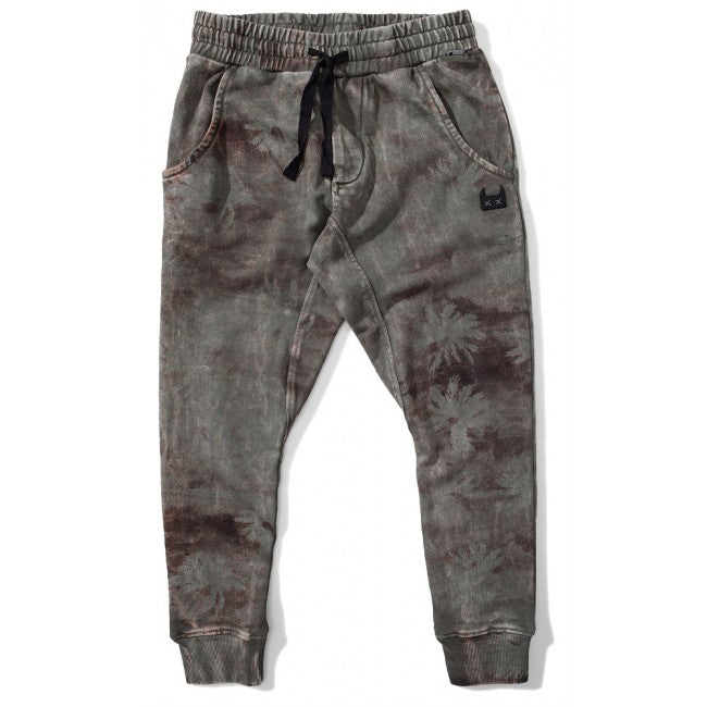 S18 Munster Kids Island Life Trackpant - Washed Olive (Drop 2)