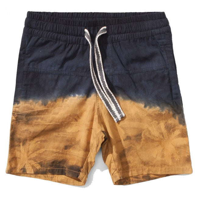 S18 Munster Kids Island Split Walk Short - Mustard (Drop 2)