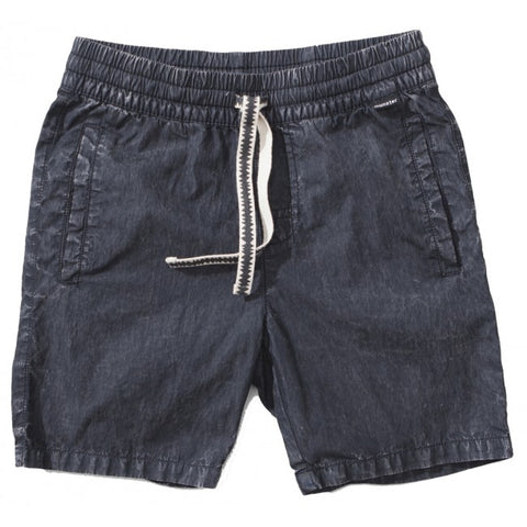 S18 Munster Kids Trash It Walk Short - Mineral Black (Drop 2)