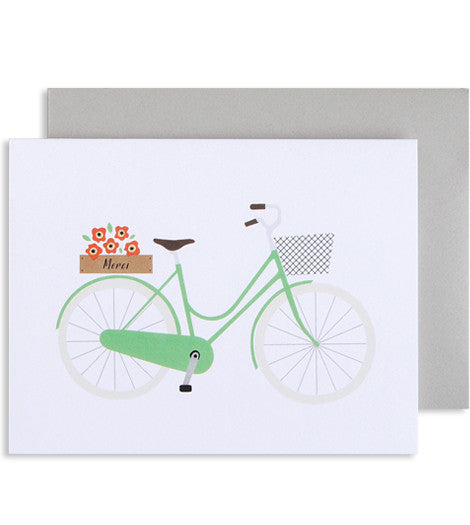French Bicycle Card - My Messy Room