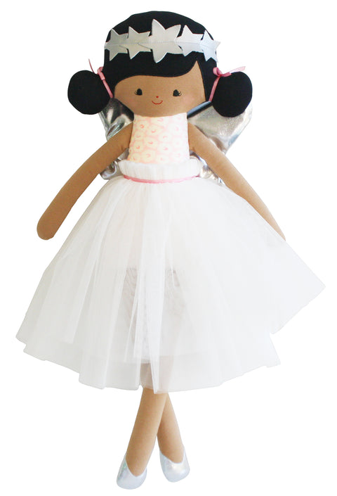 Alimrose Eve Angel Doll 48cm Silver and Pink