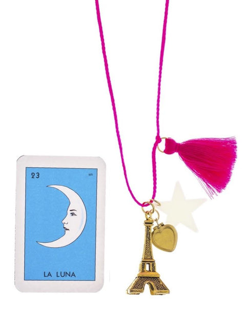 "Gunner and Lux ""Paris Is Always a Good Idea"" Necklace"