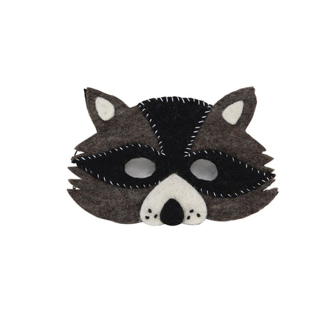 Down to The Woods S16 Racoon Felt Mask - My Messy Room - 1