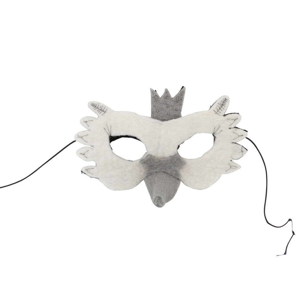 Down to The Woods S16 Swan Felt Mask - My Messy Room - 1