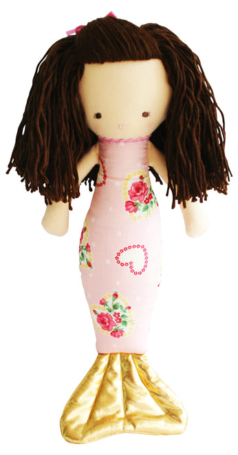 Alimrose Mermaid Doll Heart Pink