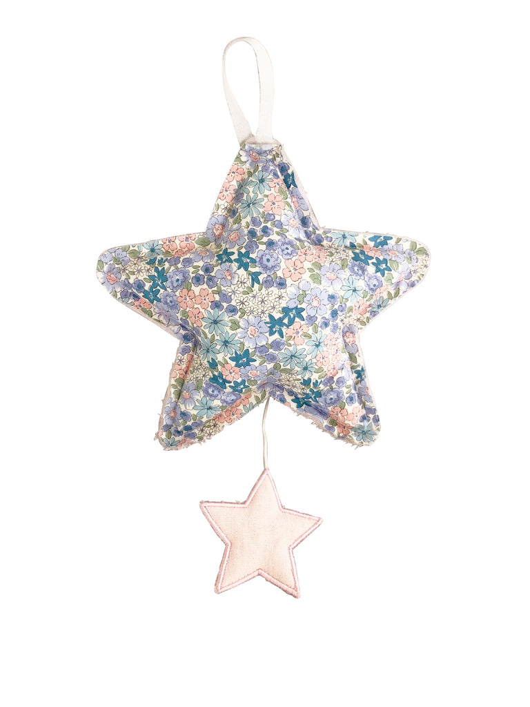 Alimrose Star Musical - Pink Linen and Liberty Blue