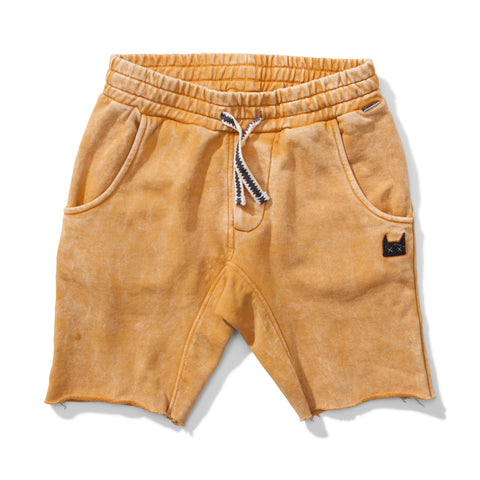 S18 Munster Kids Ollie Short - Pigment Mustard (Drop 3)