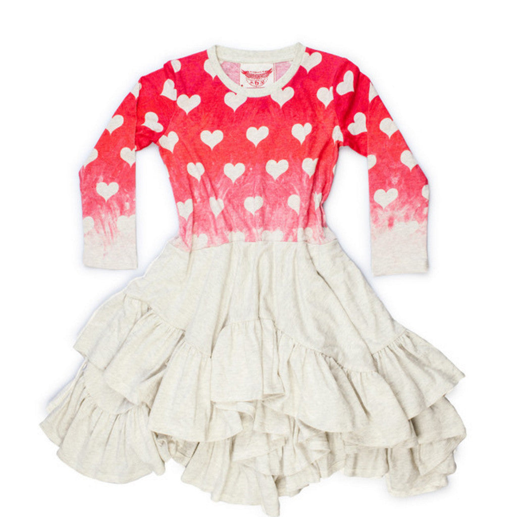 Paperwings Heart Painting Dress GW15N410 - My Messy Room - 1