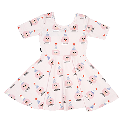 S18 Rock Your Kid Party Girl Waisted Dress