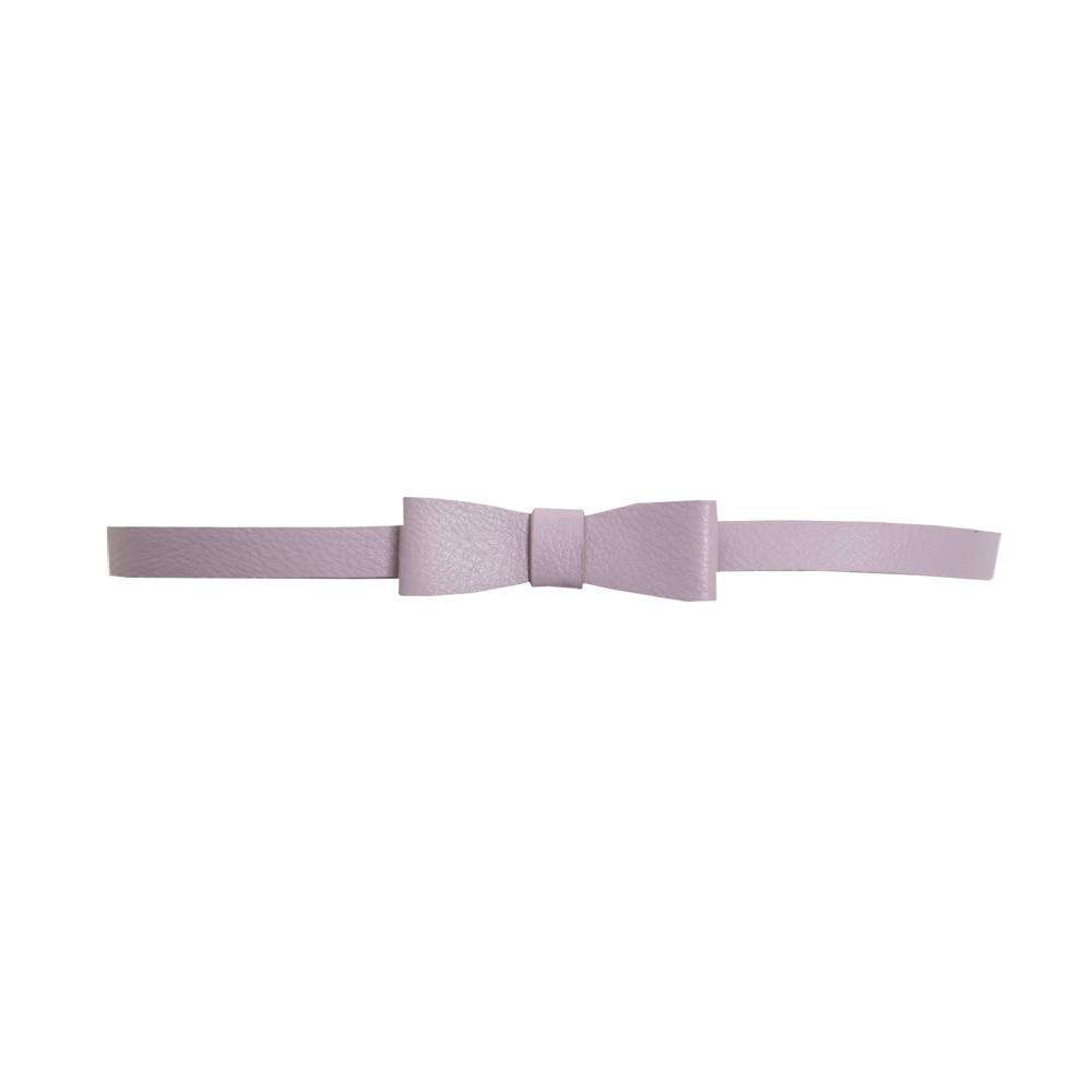 Rock Your Kid W17 Light Mauve Bow Belt