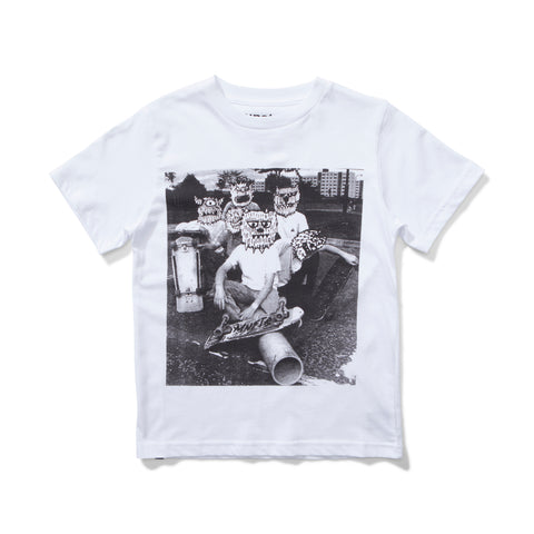 S18 Munster Kids Ratpack Tee - White (Drop 3)