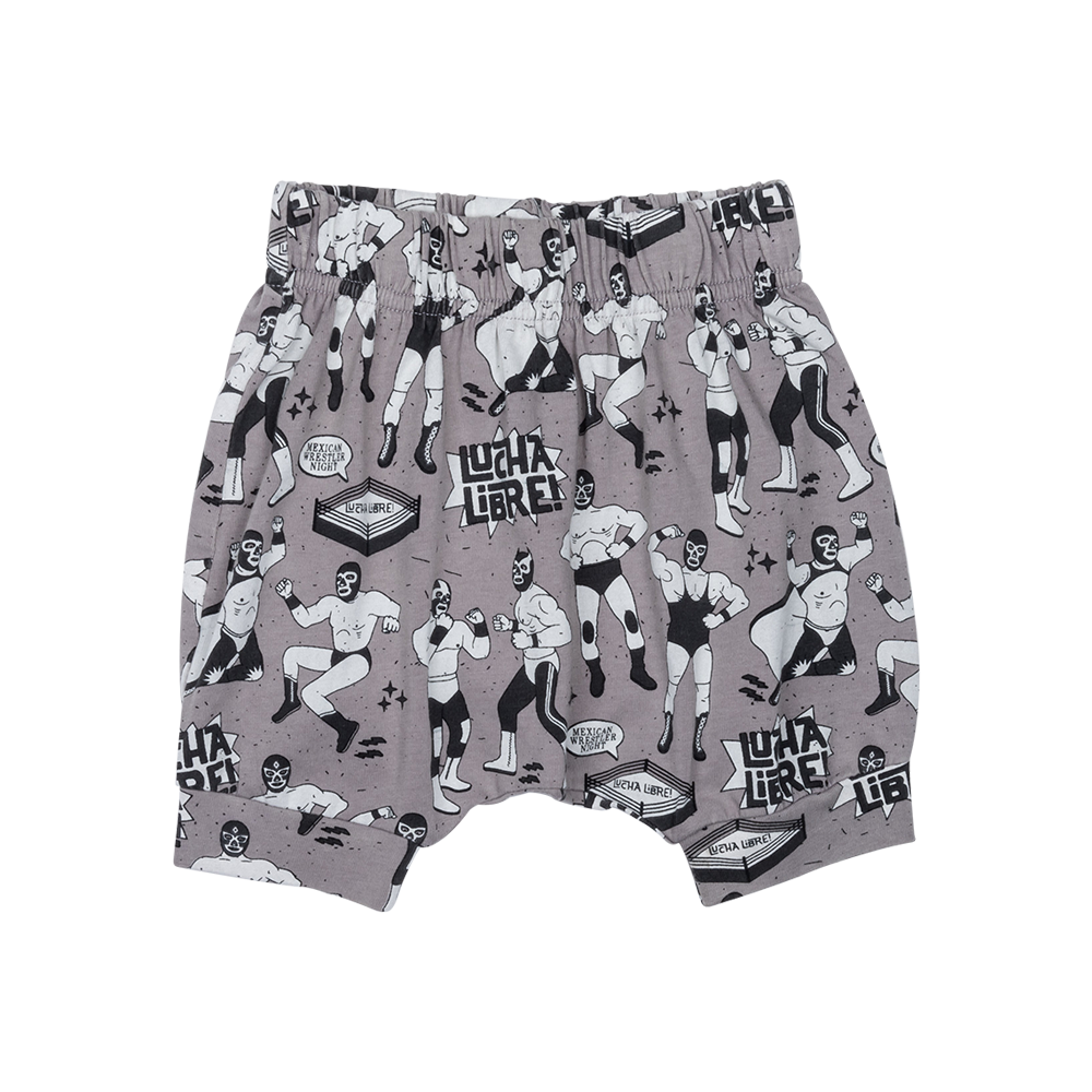 S17 Rock your Baby Luche Libre short