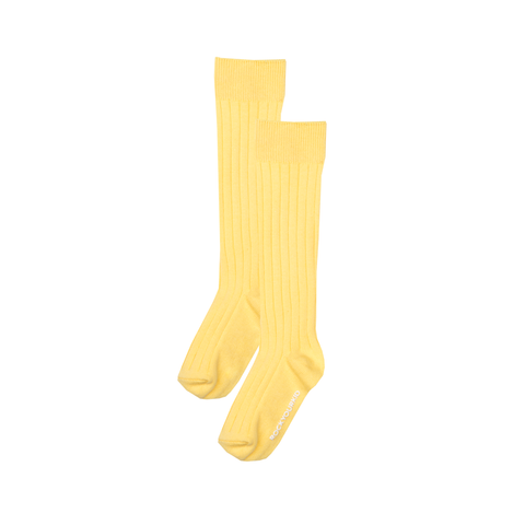 S17 Rock Your Kid Yellow Knee High Socks