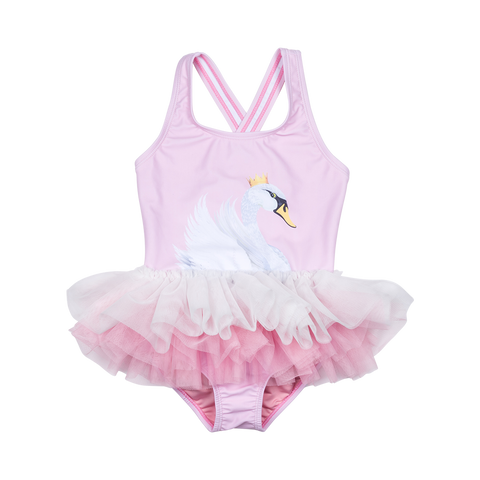 S17 Rock Your Kid Swan Lake Tulle One Piece
