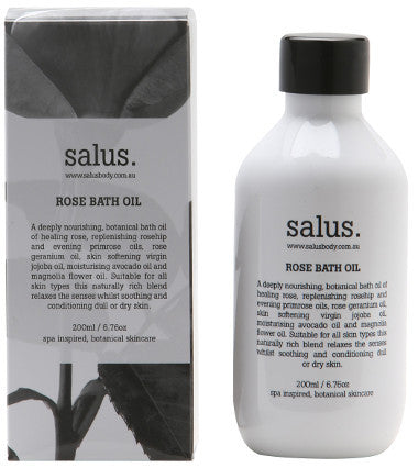 Salus Body Rose Bath Oil - 200ml - My Messy Room