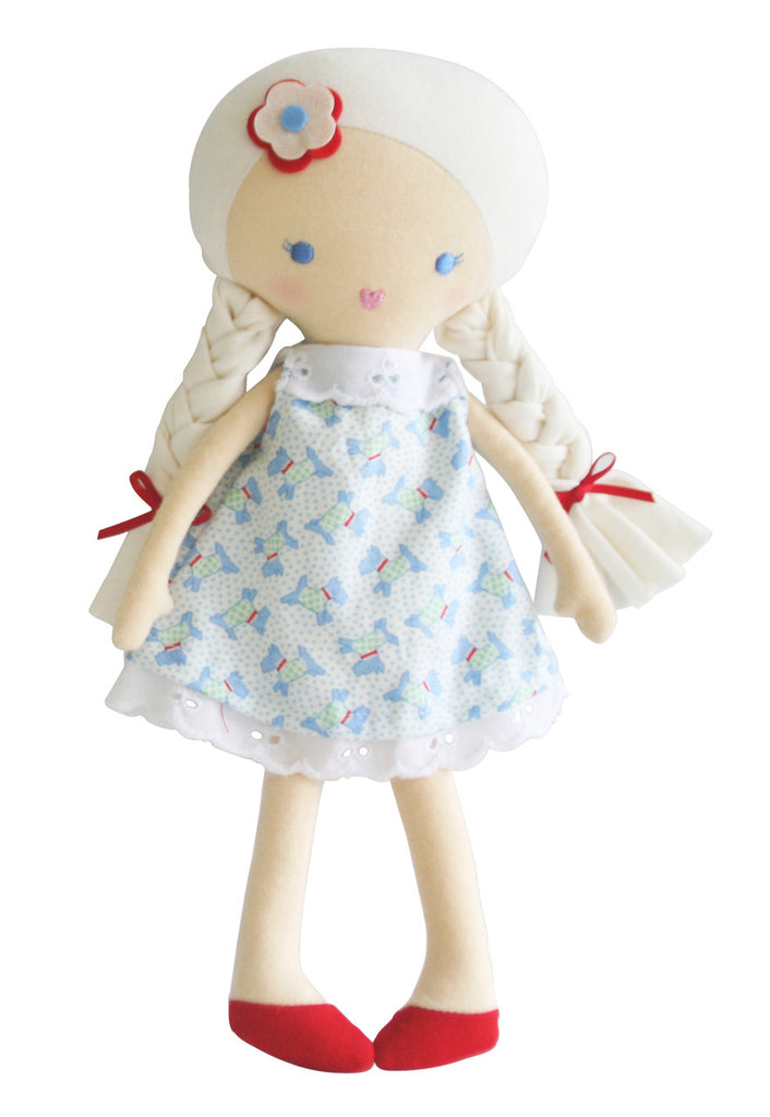 Alimrose Rosie Doll - Scotty Dog 30cm - My Messy Room