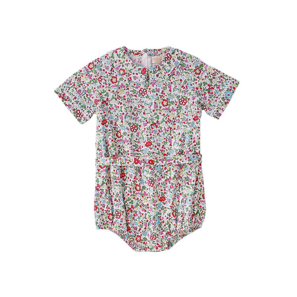 S17 Peggy Scarlett Playsuit in Spring Floral
