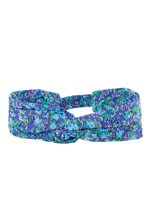 S17 Coco and Ginger Headband Blue Wild Flower