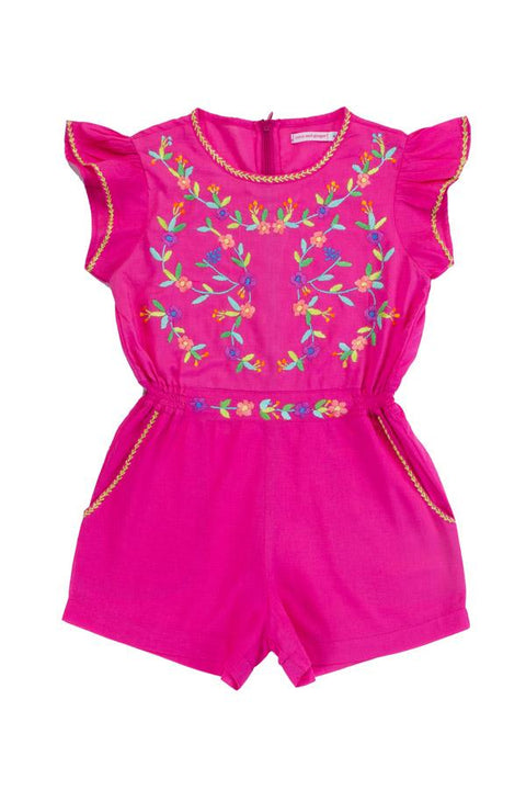 S17 Coco and Ginger Magnolia Playsuit