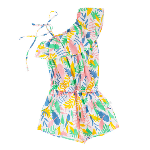 S18 Peggy Cia Jumpsuit - Floral Abstract  (Tween)