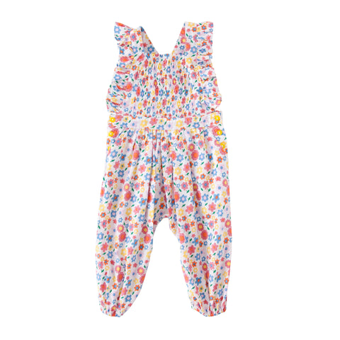 S18 Peggy Mia Playsuit - Pop Floral (Pre-Order)