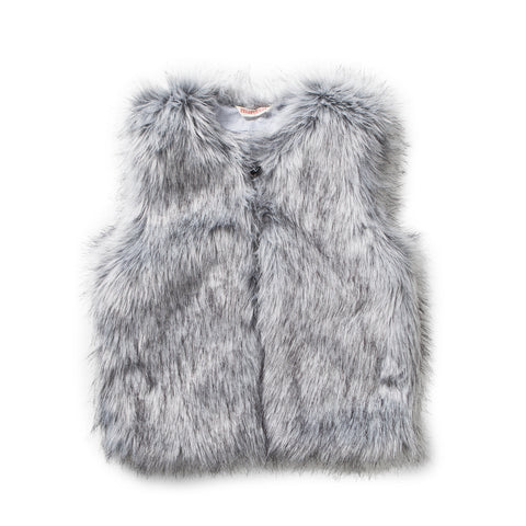 Missie Munster W17 Sage Vest - Light Grey