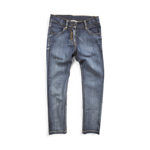 W18 Munster Kids Slim Stovey Jean - Beaten Blue