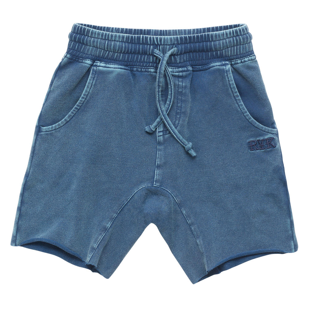 S18 Rock Your Kid Smash Short - Blue Wash