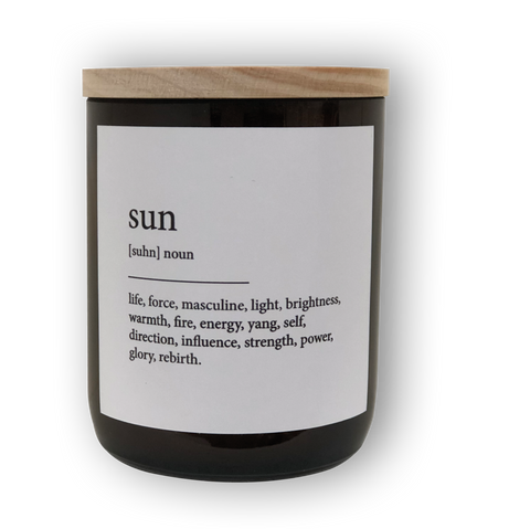 The Commonfolk Collective Dictionary Mid Soy Candle / Sun - Mali