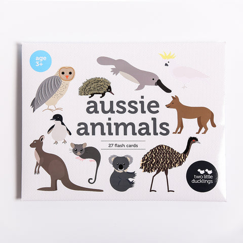 Two Little Ducklings Aussie Animal Flash Cards