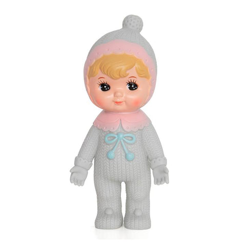 Lapin & Me Blonde Bobble Grey Woodland Doll