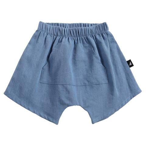 S18 Anarkid Distressed Chambray Pocket Shorts