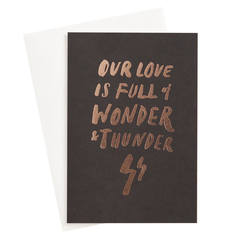 Wonder and Thunder Foil Card - My Messy Room - 1