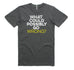 Well Spotted Wrong Tee - Coal (Mens)