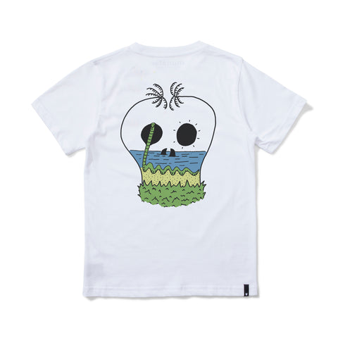 S18 Munster Kids Yew Tee - White (Drop 3)