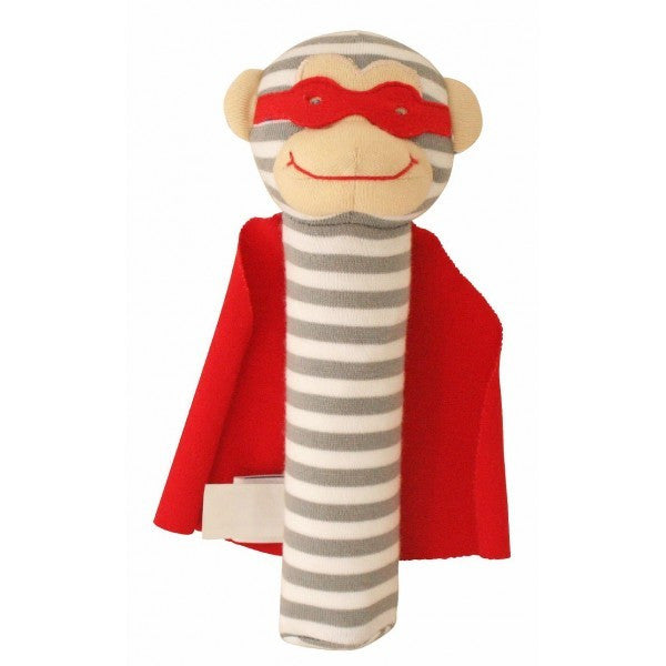 Alimrose Designs Monkey Squeaker - Super Hero - My Messy Room