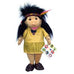 Flat Friends Native North American Indian Girl Doll Hand Puppet