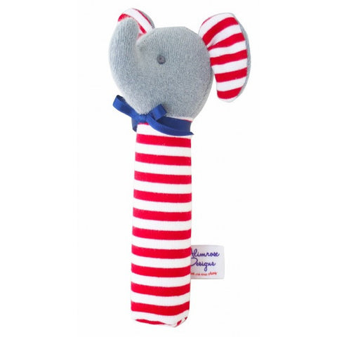 Alimrose Designs Elephant Red Hand Squeaker - My Messy Room